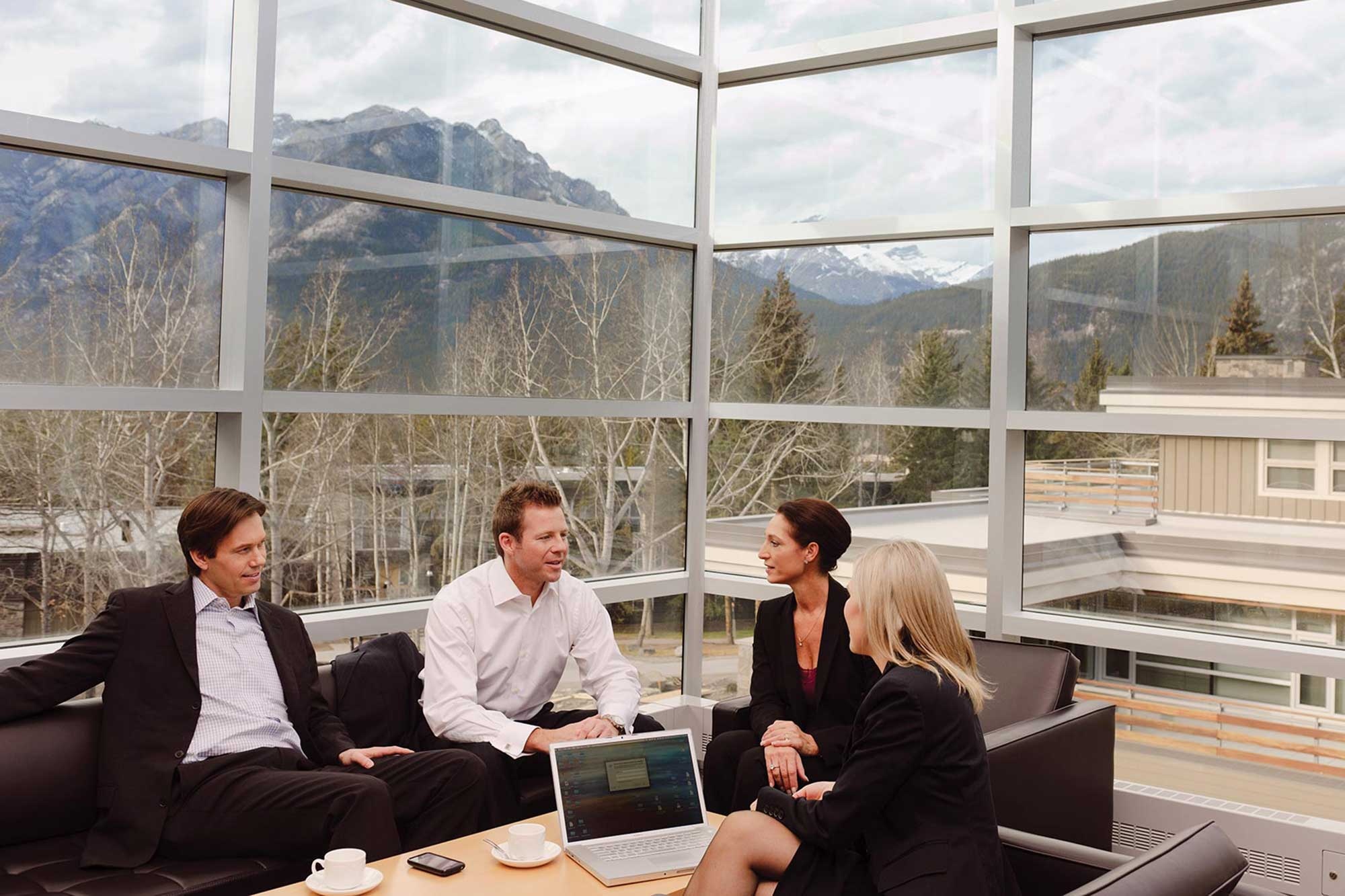 Meetings Help Banff and Lake Louise, Alberta