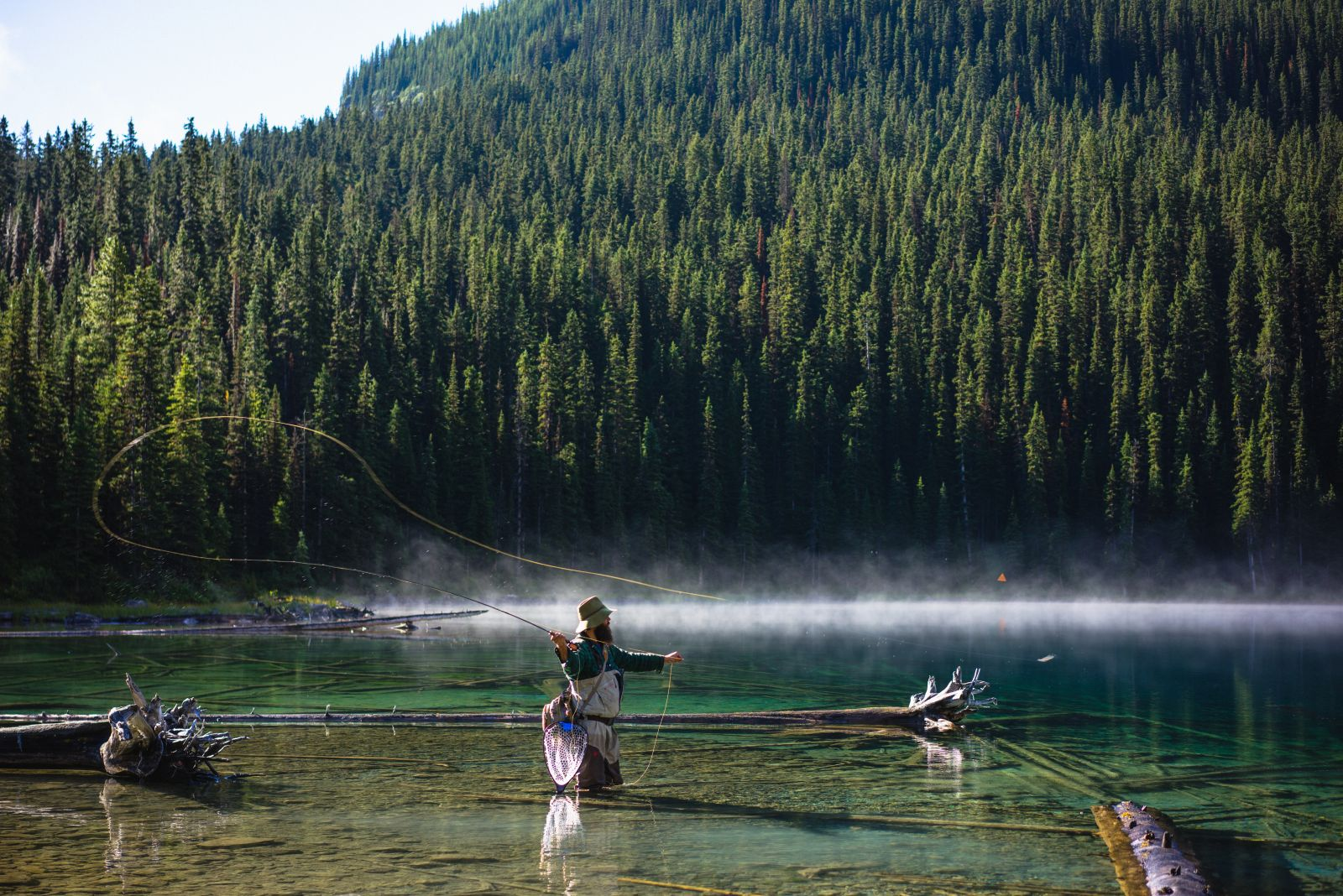 5 reasons to fish in banff national park banff lake for Fishing in banff