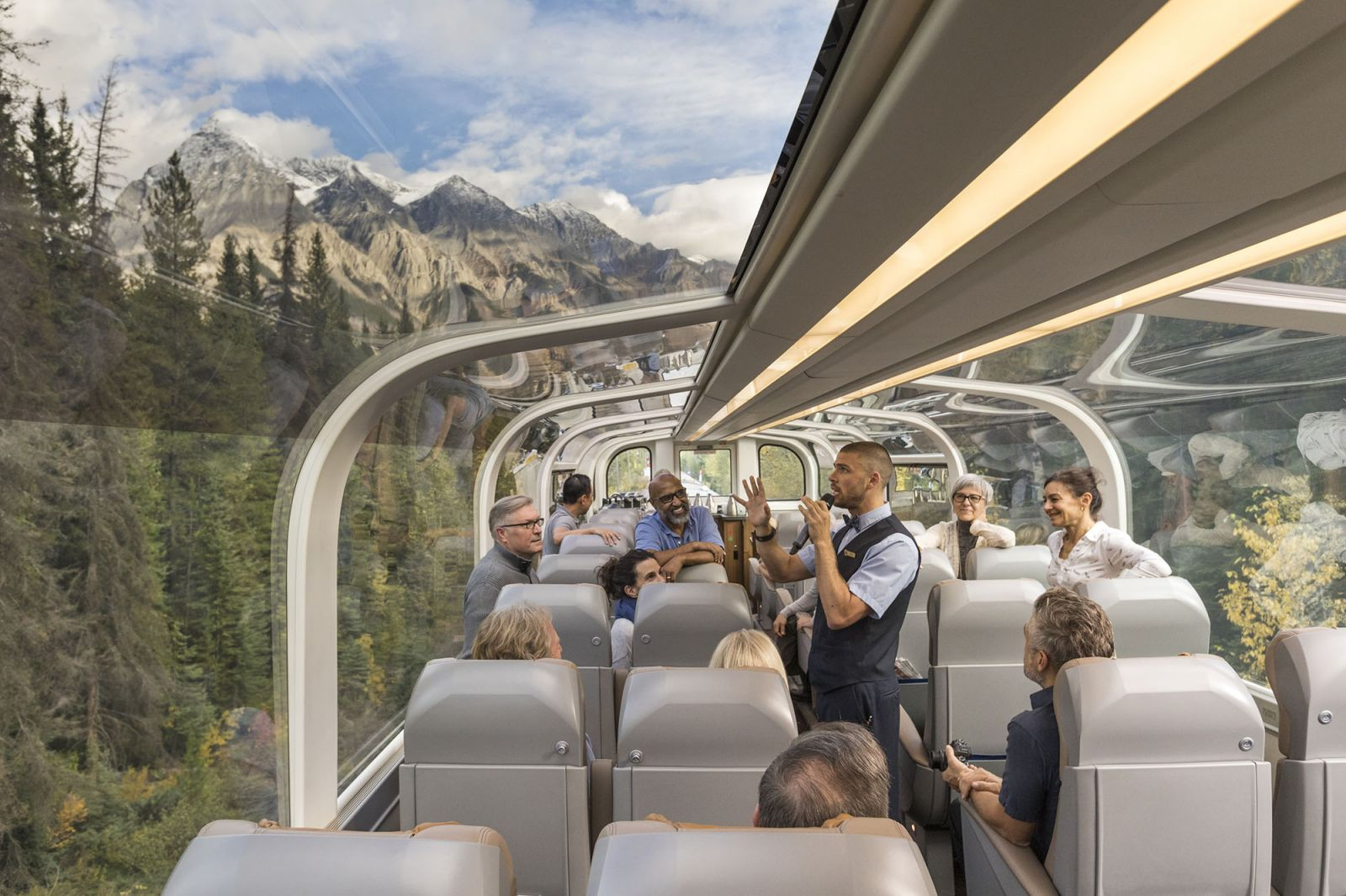 Journey Into Luxury With The Rocky Mountaineer Banff