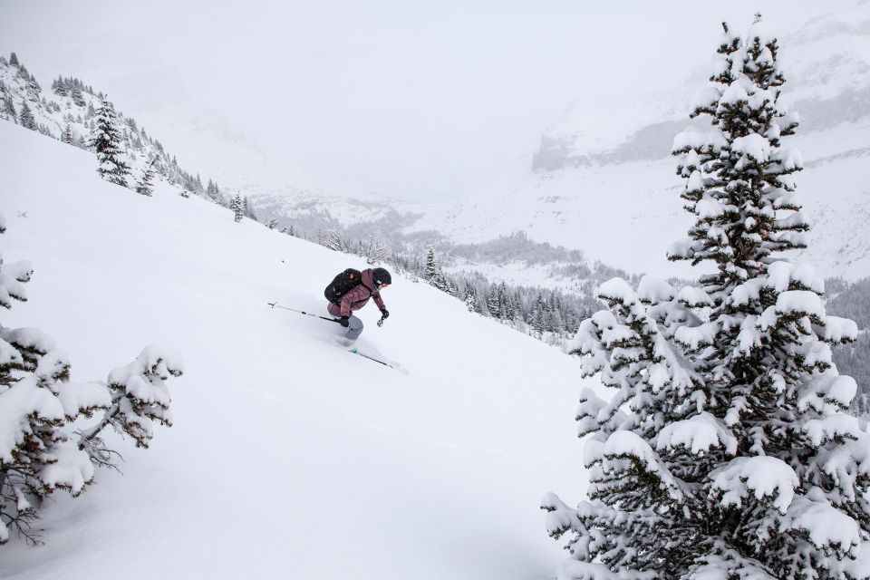 your guide to backcountry skiing snowboarding in banff national