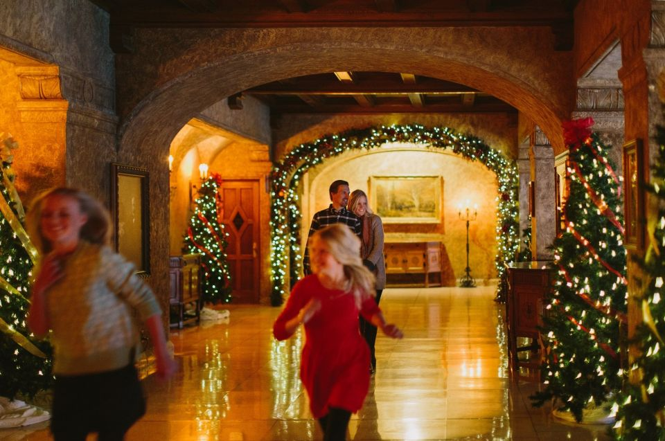 Christmas, Fairmont Banff Springs, Banff National Park