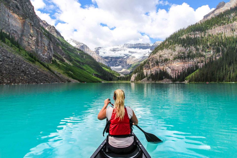 Image result for canoeing in banff