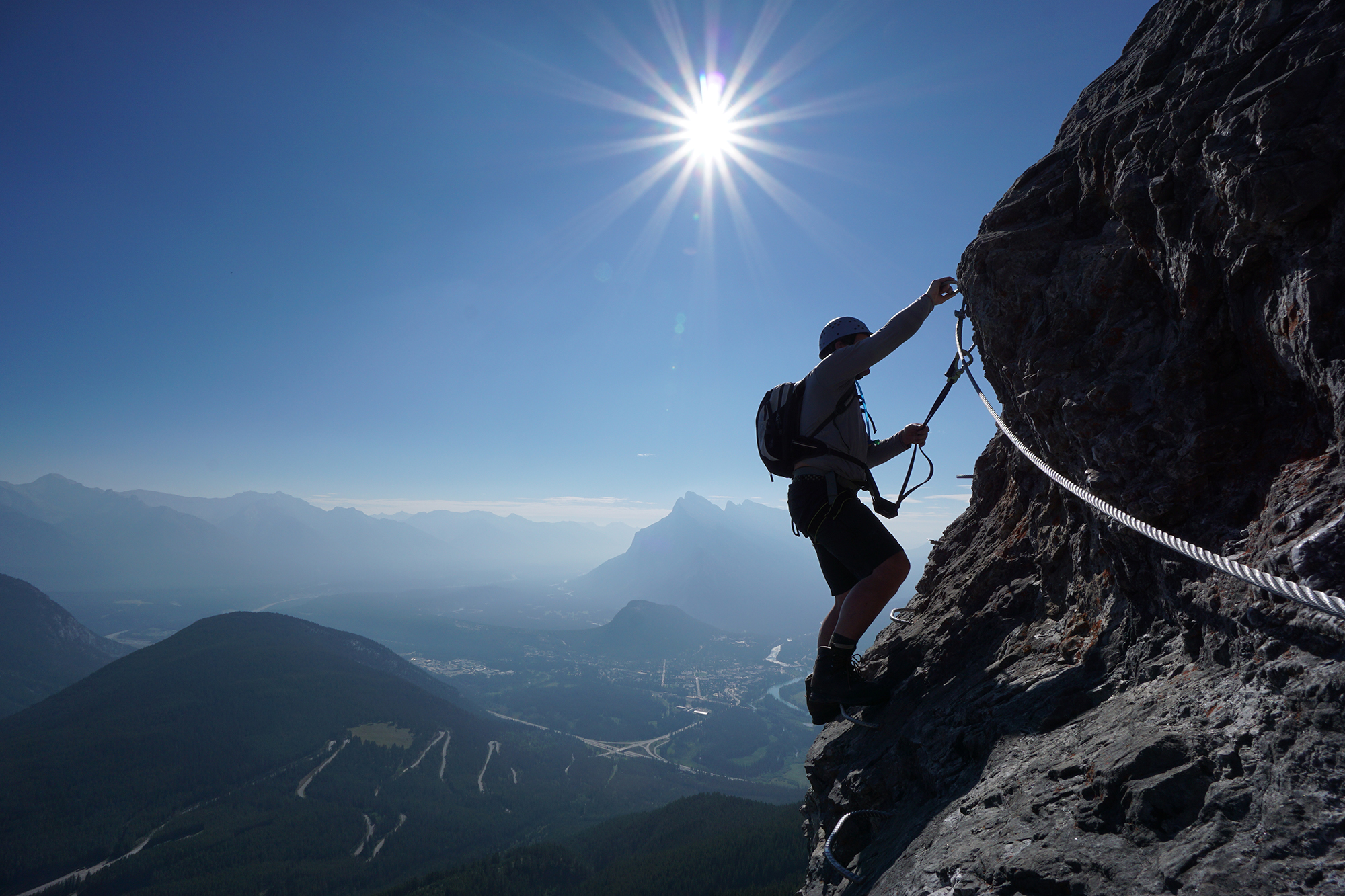 Mt Norquay's Via Ferrata