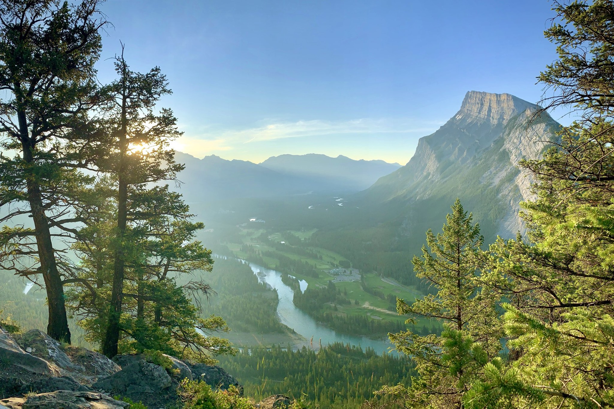 Top of Tunnel Mountain, Banff National Park