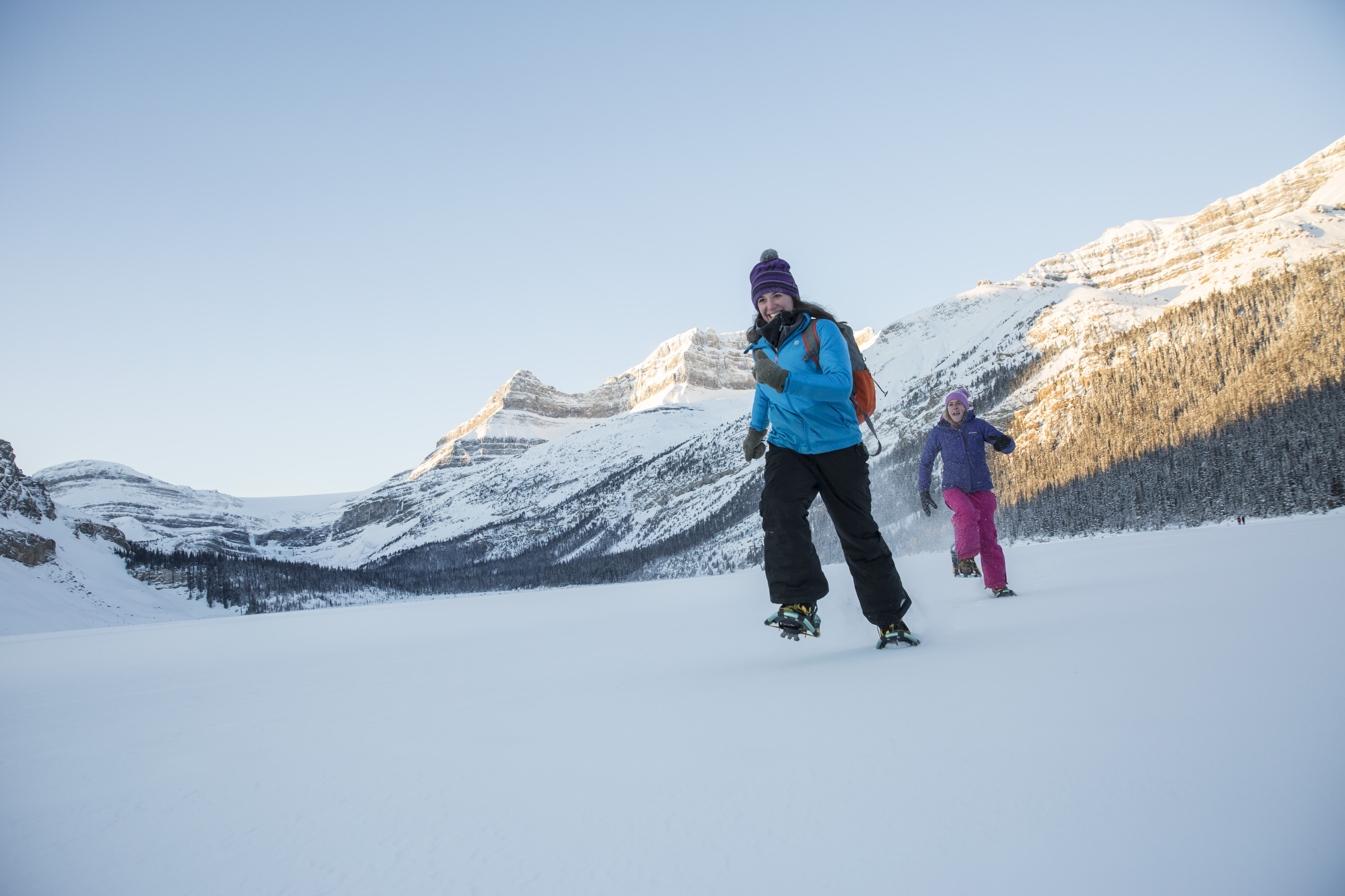 Snowshoeing in Banff and Lake Louise