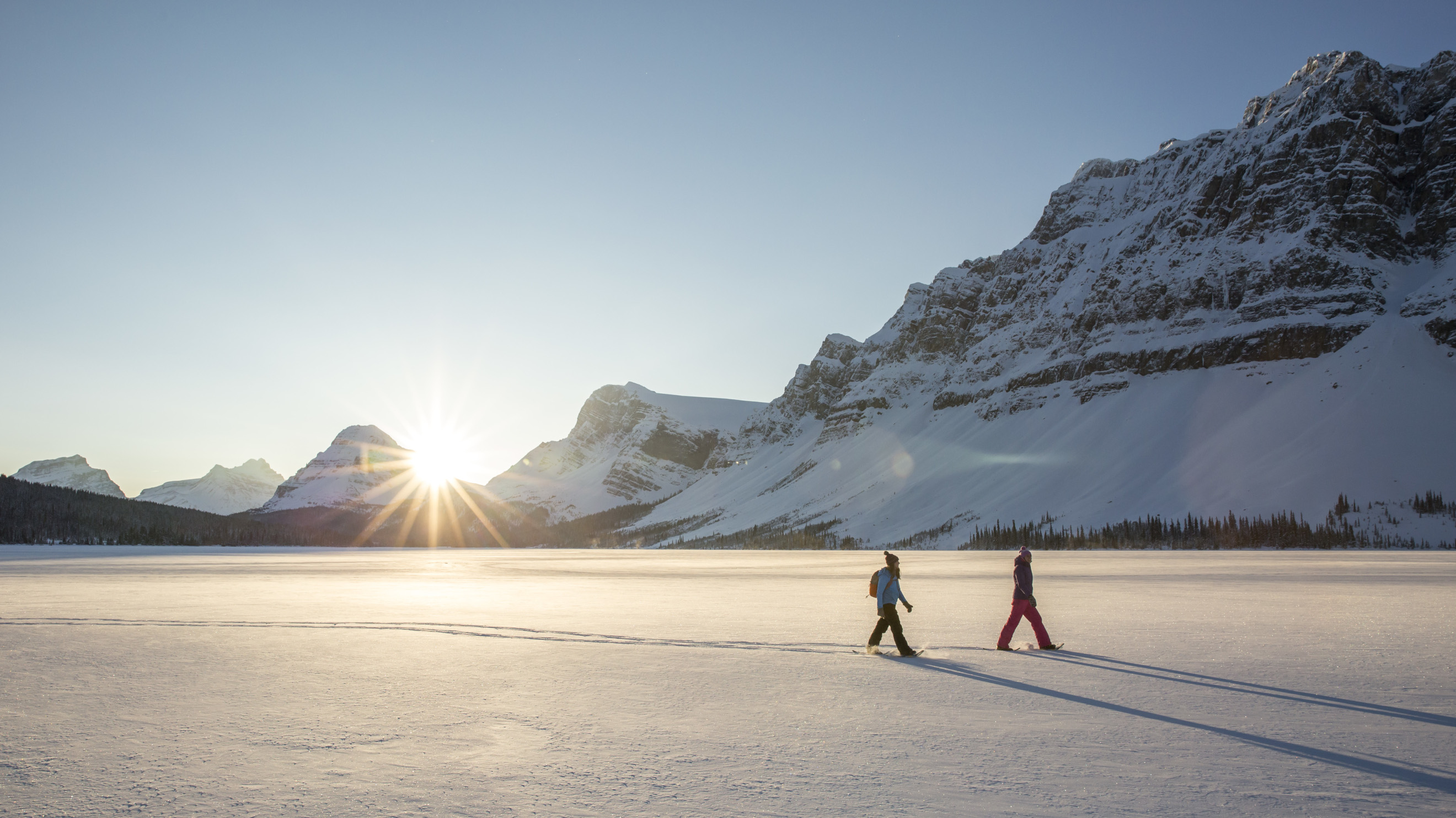 Cross Country Skiing in Banff National Park
