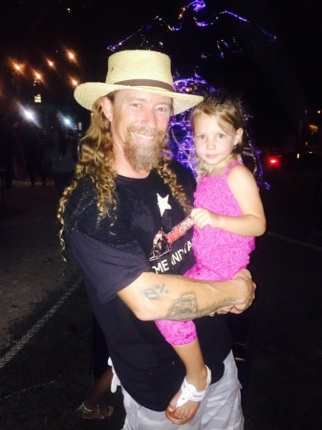 Burr and his Granddaughter plus 8 percent tattoo