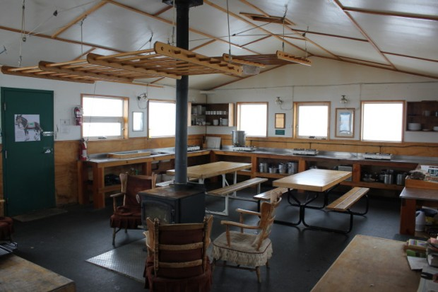 bow hut interior